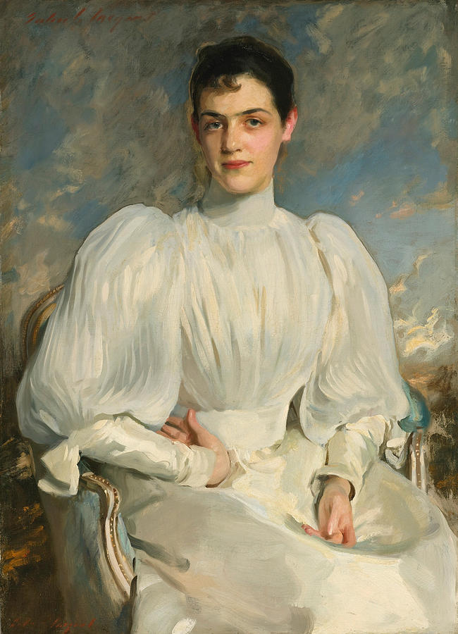 Elsie Wagg Painting By John Singer Sargent