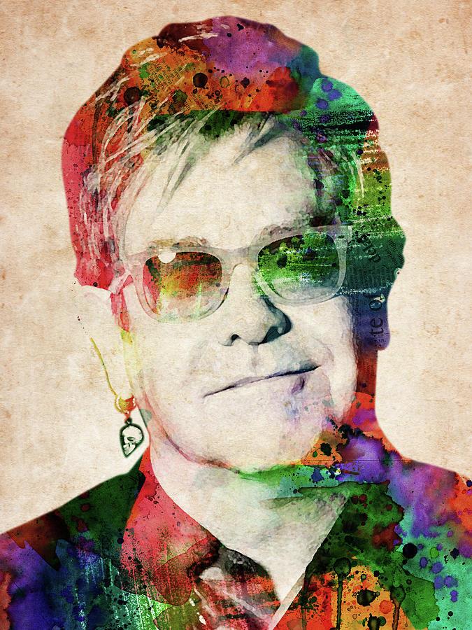 Elton John Digital Art