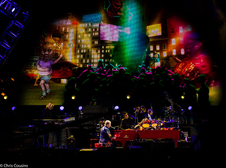 Elton Photograph - Elton - Sad Songs by Chris Cousins