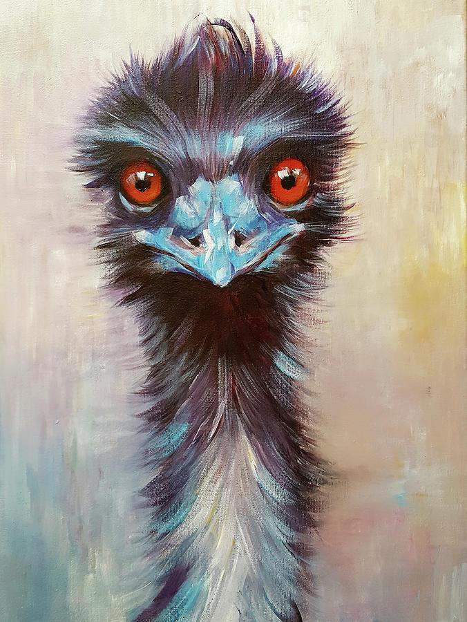 Elton the Emu by Arti Chauhan
