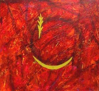 Elu Painting by Louise Couillard