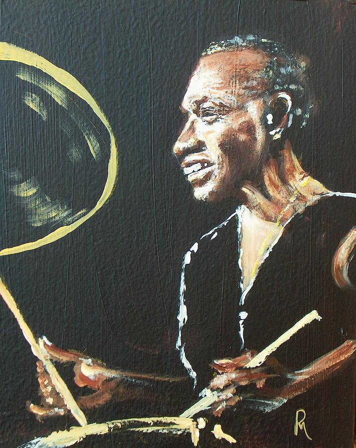 Elvin Jones Painting - Elvin Iv by Pete Maier