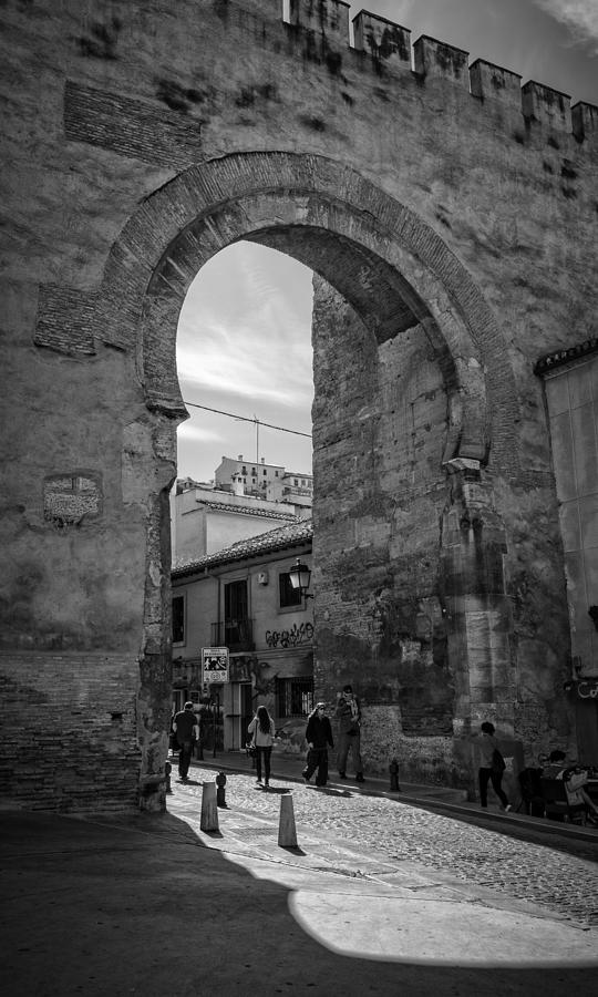 Elvira Gate Bw Photograph