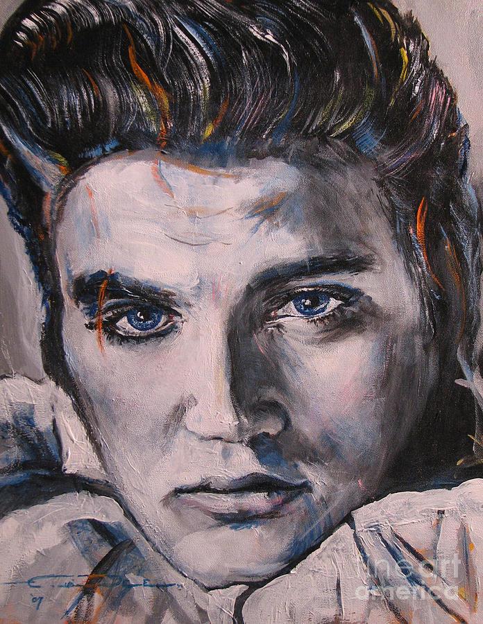 Elvis Presley Painting - Elvis 2 by Eric Dee