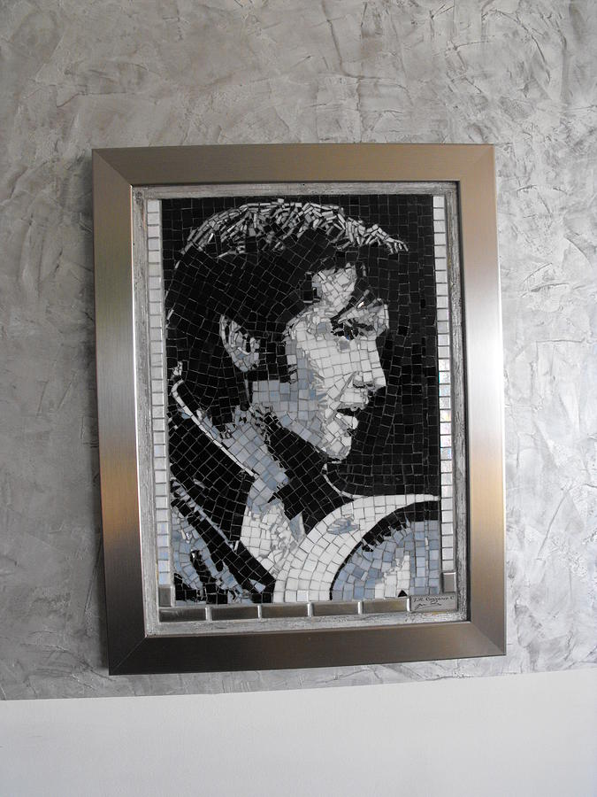 Elvis Presley Painting - Elvis Presley- 2006 by Maria Carrasco