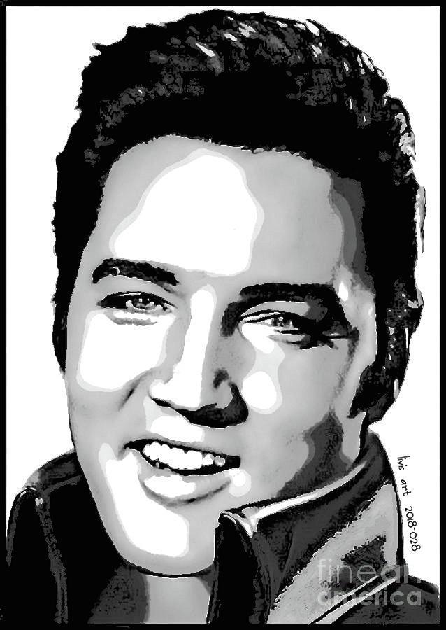 Elvis Presley 2018 028 Digital Art