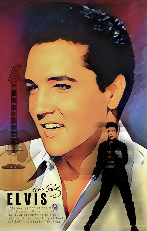 Elvis Presley by Gary Greer