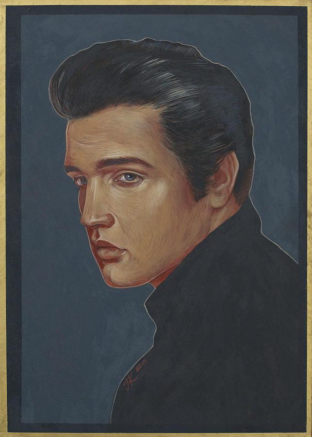 Elvis Presley Painting - Elvis Presley by Jovana Kolic