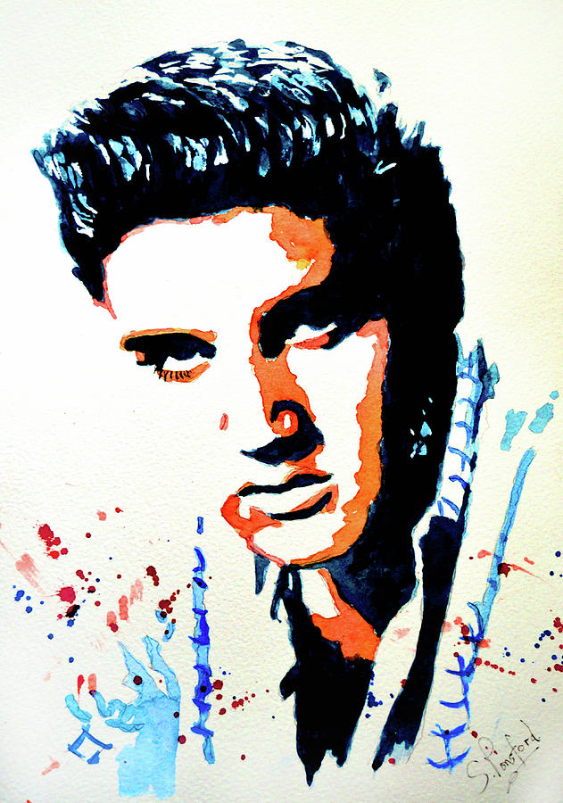 elvis by Steven Ponsford