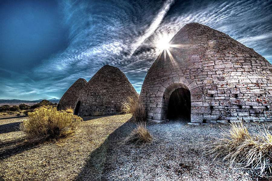 Ely Photograph - Ely Charcoal Ovens by Bryan Moore