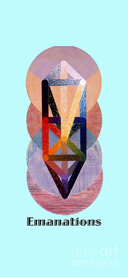 Tarot Painting - Emanations text by Michael Bellon