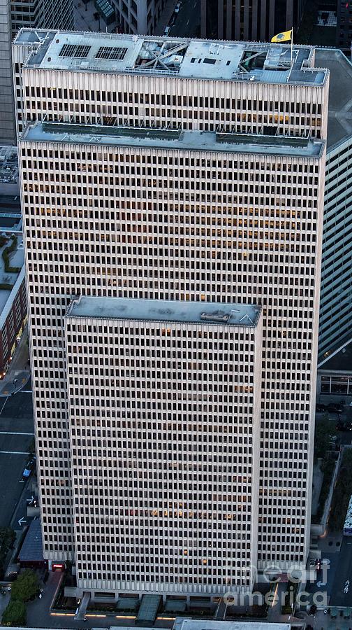 Embarcadero Center Photograph - Embarcadero Center In San Francisco by David Oppenheimer