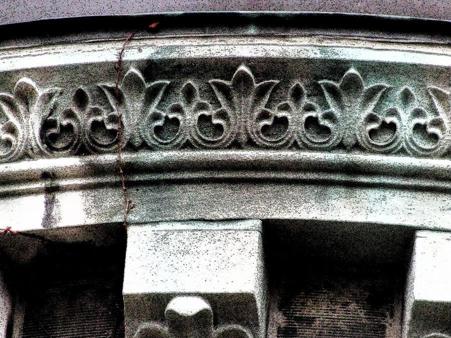 Stonework Photograph - Embellishment Series by Ginger Geftakys