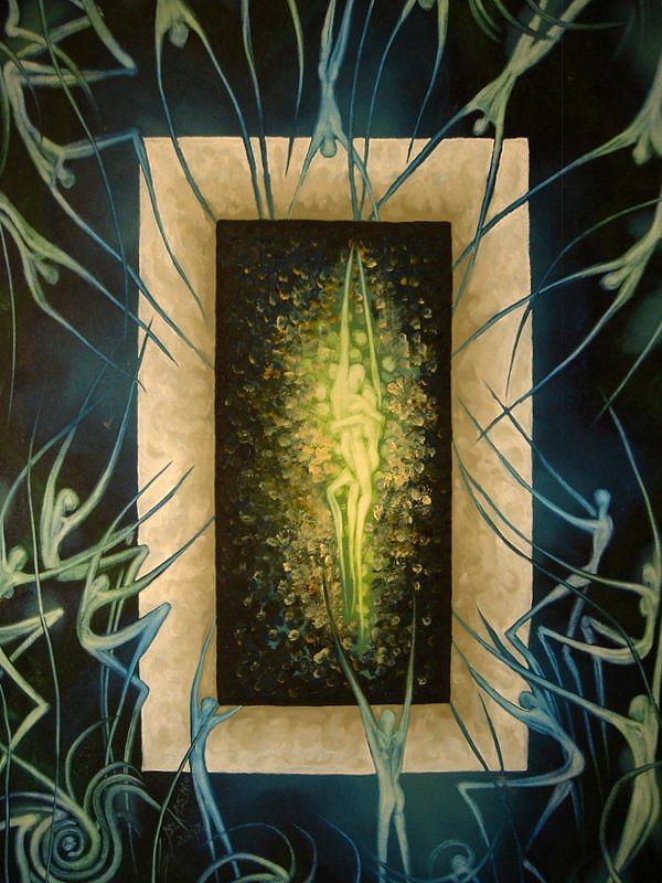 Surreal Painting - Ember Of Desire by Ibrahim Savas Pekdemir