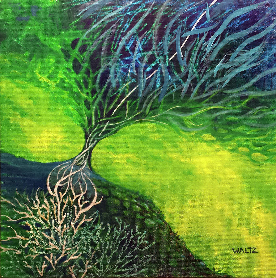 Embodied Energy Painting by Beth Waltz