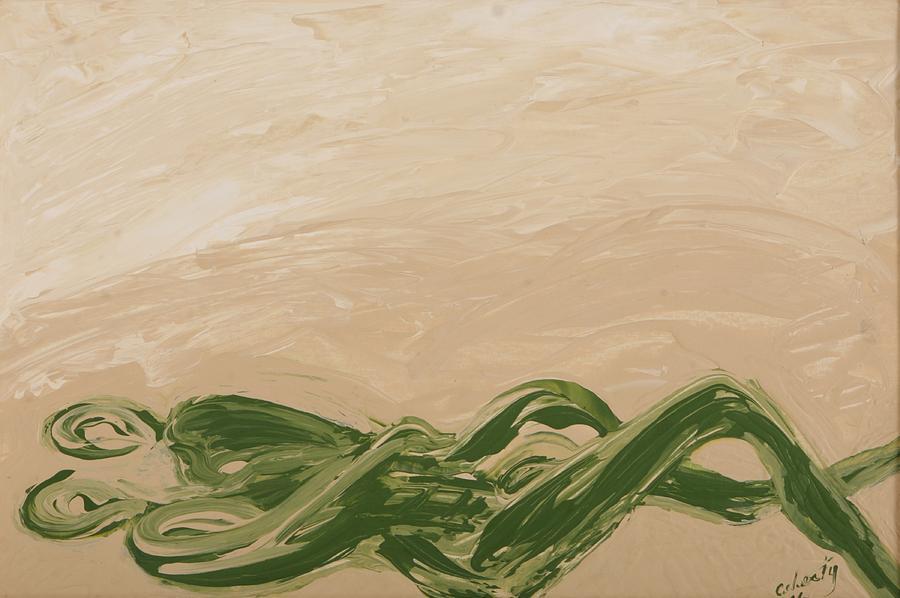 Sedona Painting - Embrace by Celesty  Claudio