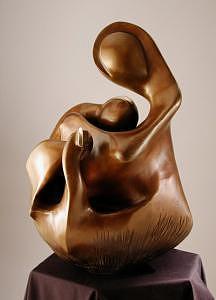 Embrace Sculpture by Chaz  Della Porta