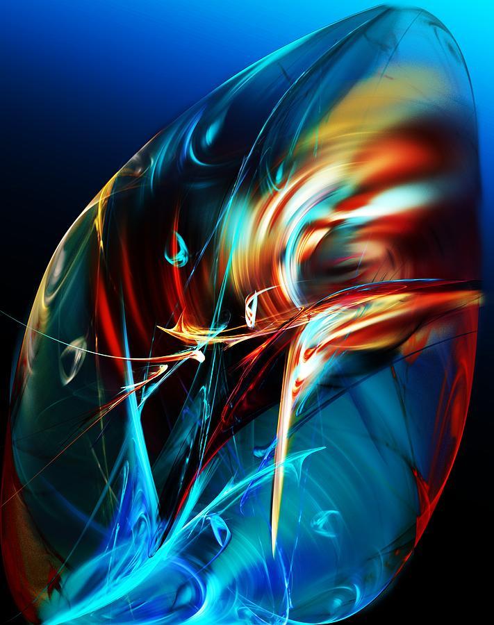 Expressionism Digital Art - Embryonic Symphony  by David Lane