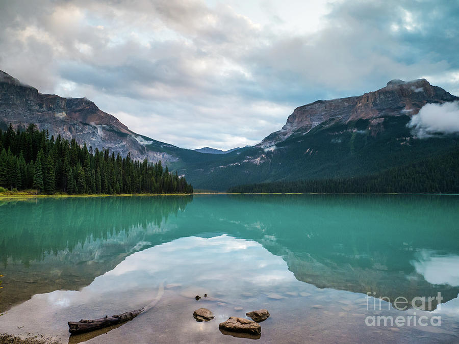 Emeral Lake 2 by Patricia Gould