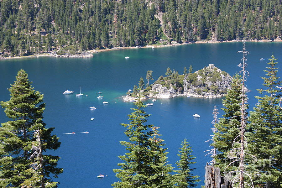 Emerald Bay Photograph - Emerald Bay by Carol Groenen