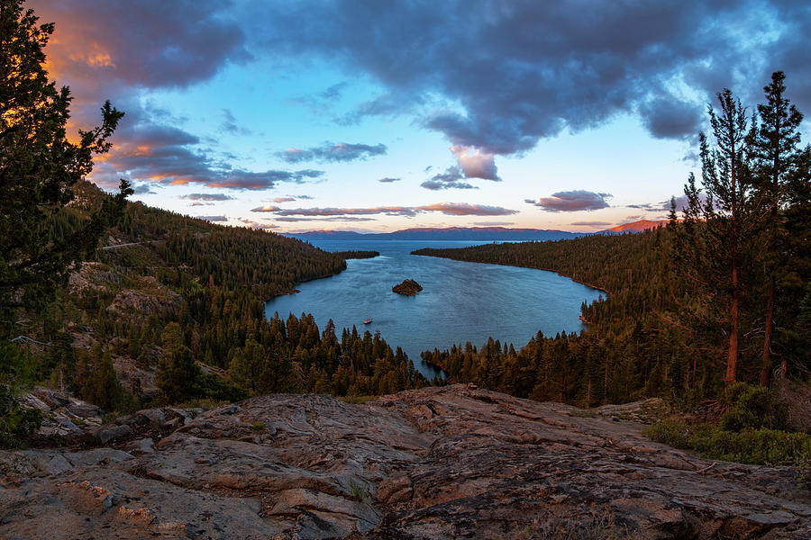 Emerald Bay Granite by Brad Scott by Brad Scott