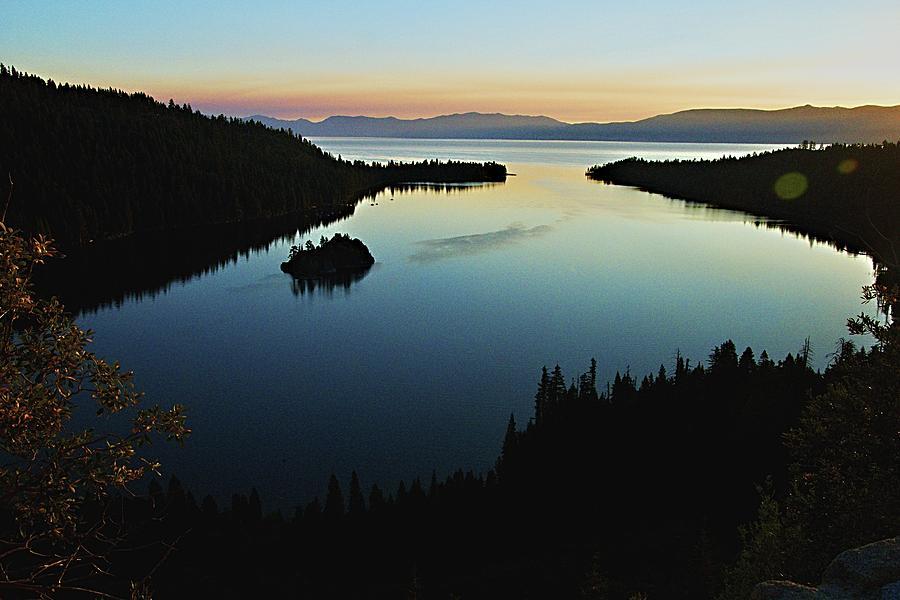 Emerald Bay, Lake Tahoe, Dawn by Michael Courtney
