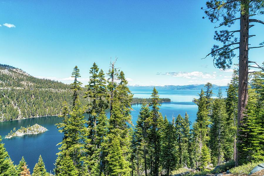 Emerald Bay Lake Tahoe Photograph
