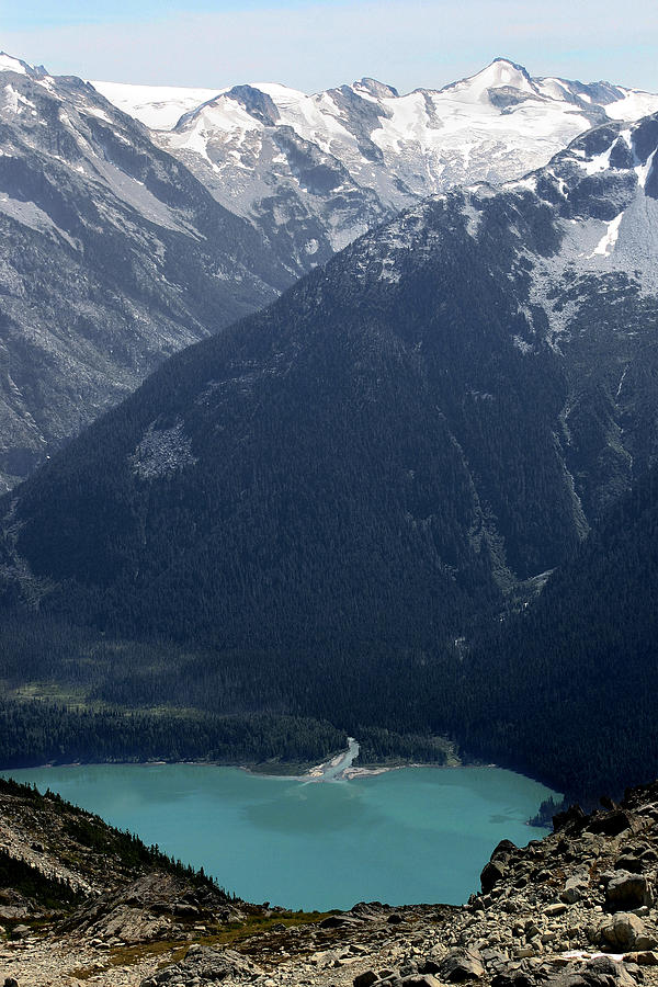 Whistler Photograph - Emerald Cheakamus Lake Whistler Canada by Pierre Leclerc Photography