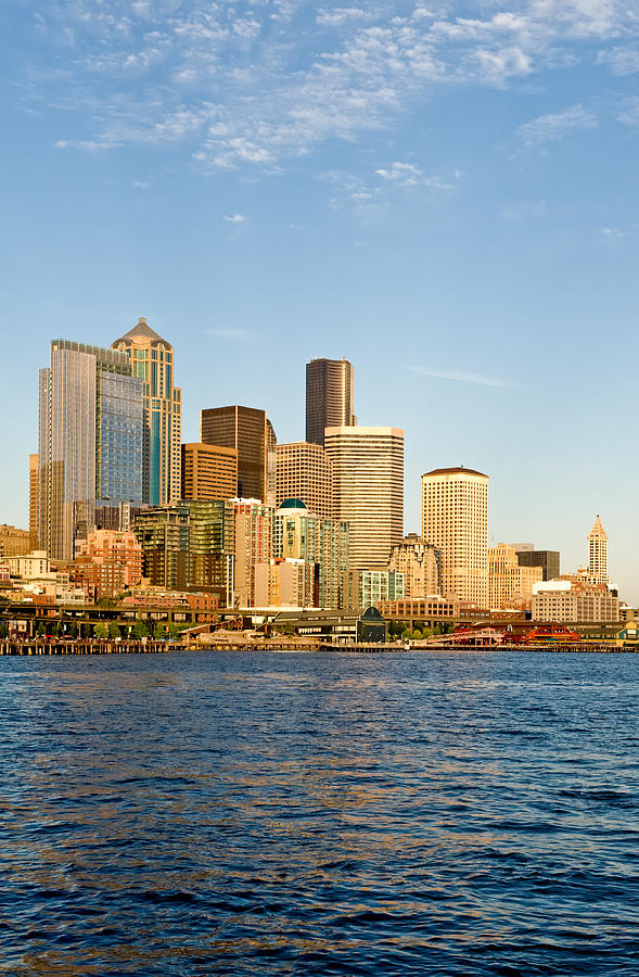 Emerald Photograph - Emerald City by Tom Dowd