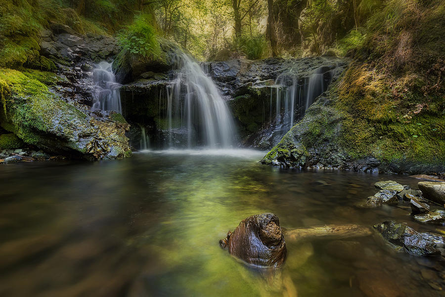Emerald Falls Photograph - Emerald Falls by David Gn