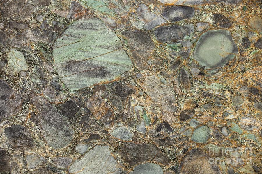 Emerald Green Granite Photograph