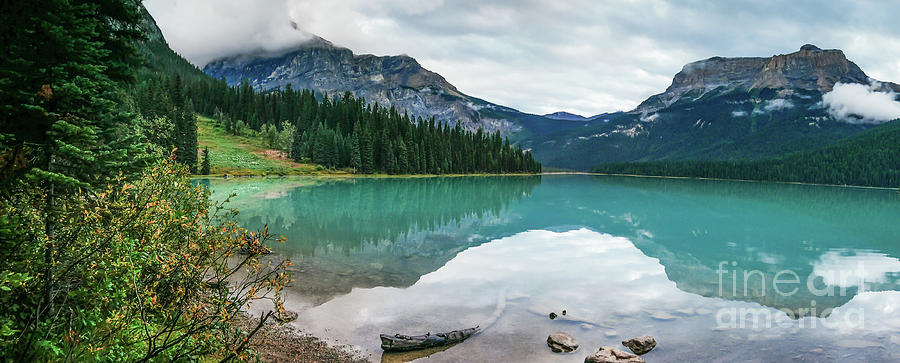 Emerald Lake 1 by Patricia Gould