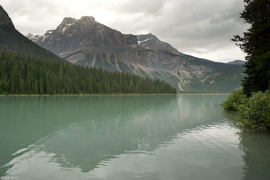 Emerald Photograph - Emerald Lake by Kenneth Hadlock