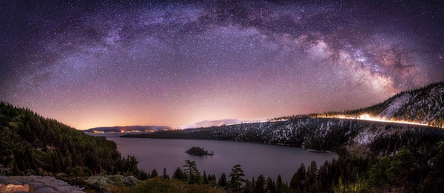 Astrophotography Photograph - Emerald Nights  by Tony Fuentes