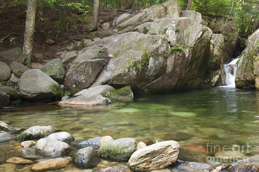 Hike Photograph - Emerald Pool - White Mountains New Hampshire Usa by Erin Paul Donovan