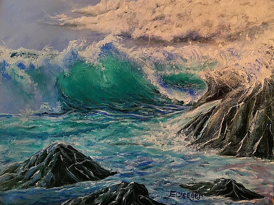 Emerald Sea by Esperanza J Creeger
