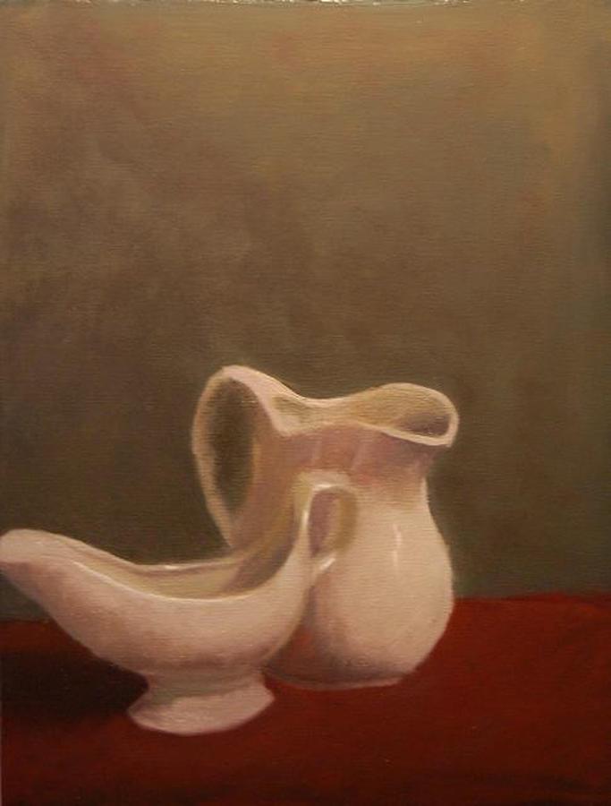 Ceramic Painting - Emergence Of Ceramic by Krishnamurthy S