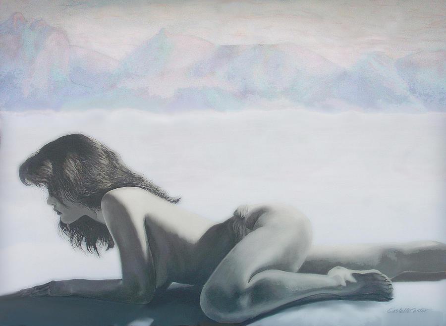Figure Painting - Emergence Six by JoAnne Castelli-Castor