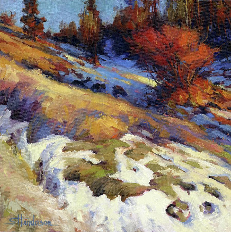 Landscape Painting - Emergence by Steve Henderson