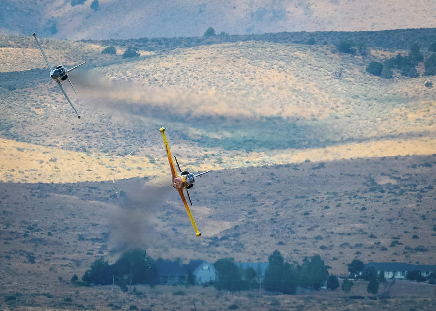 Reno Air Races Photograph - Emerging From The Valley Of Speed 5 X 7 Aspect by John King