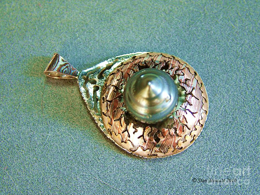 Black Pearl Jewelry - Emerging Life by Stan Mowatt