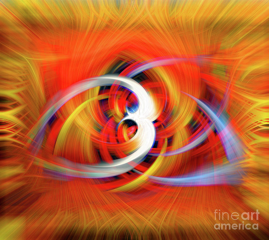 Emerging Light from a Colorful Vortex by Sue Melvin