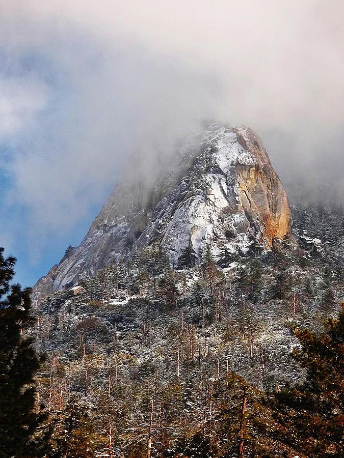 Lily Rock Photograph - Emerging Peak - Idyllwild by Glenn McCarthy Art and Photography