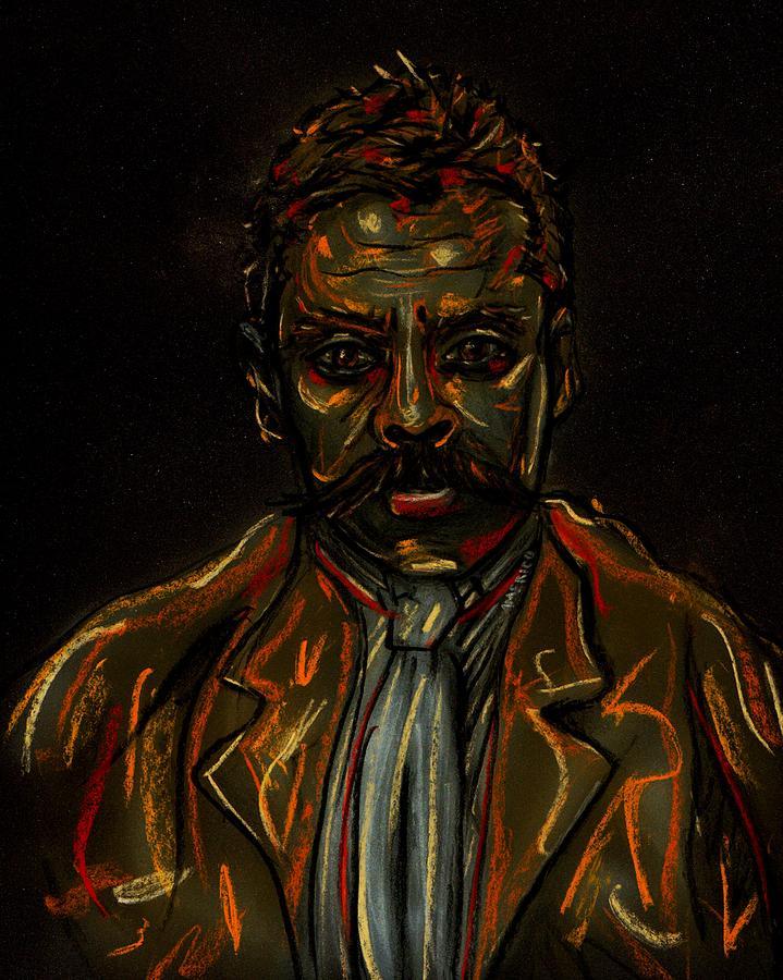 Emiliano Pastel - Emiliano Zapata by Americo Salazar