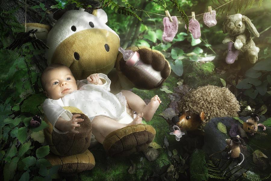 Baby Photograph - Emilies World by Christophe Kiciak