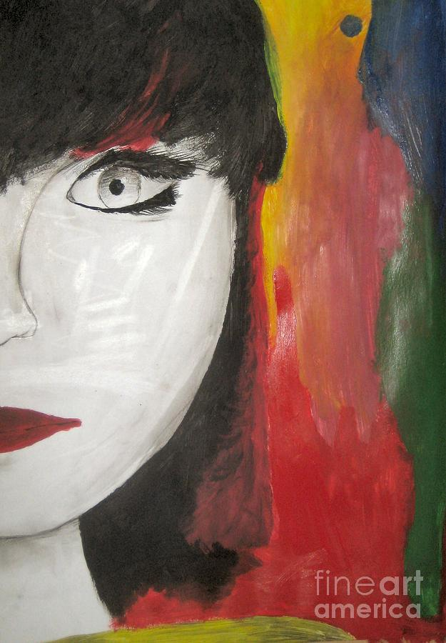 Girl Painting - Emilios Asia Girl by Anastasis  Anastasi