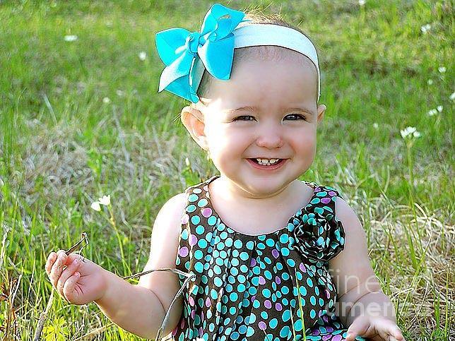 Baby Photograph - Emily Grace Craig 1 by Amanda  Sanford