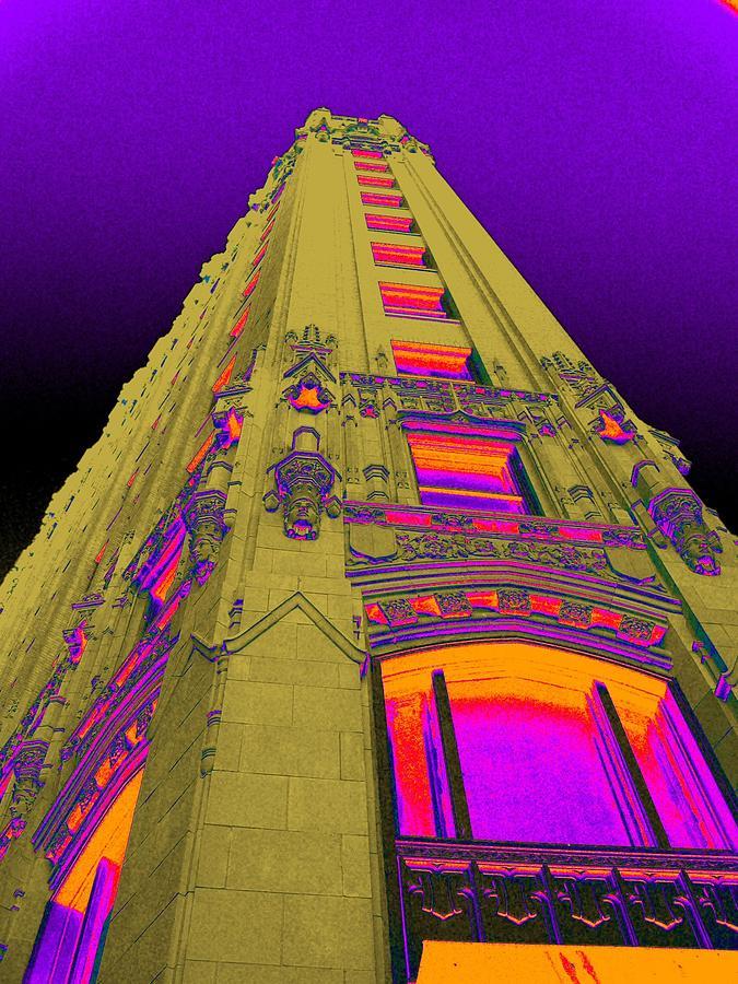 San Antonio Photograph - Emily Morgan Hotel With Cobalt Sky by Edgar Farrera
