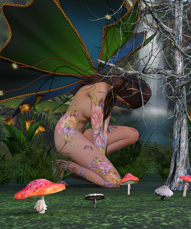 Fairy Digital Art - Eminence Of Your Domain by Betsy Knapp