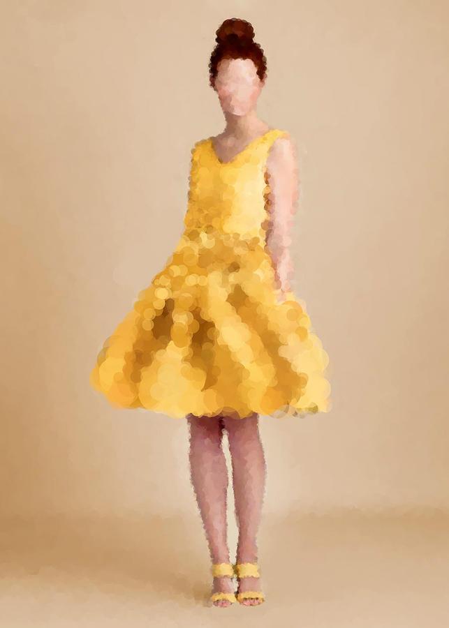 Fashion Digital Art - Emma by Nancy Levan